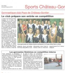 Haut-Anjou 23.01.15 Competition Le Mans
