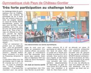 Haut Anjou challenge Loisirs