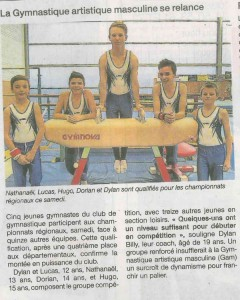 Ouest France 30 04 2015