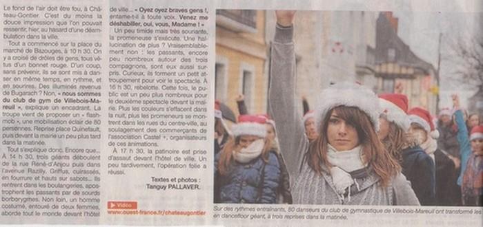 article Ouest France 24dec