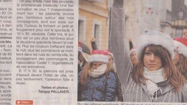 Flashmob de Noël